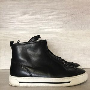 MARC BY MARC ZIP HIGH TOP SNEAKER